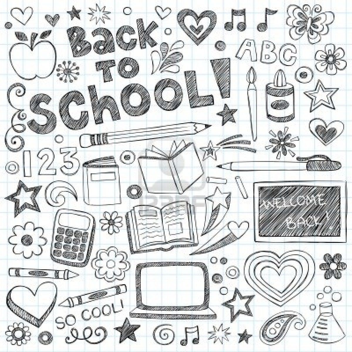 Notebook Doodles, Doodles, How To Draw Hands