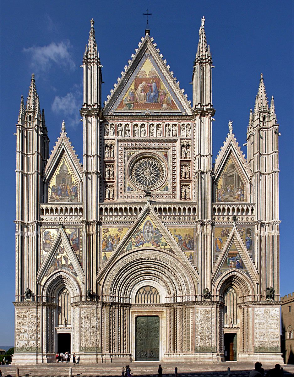 Orvieto Cathedral, Italy   Impressive Monument Of Religious Architecture