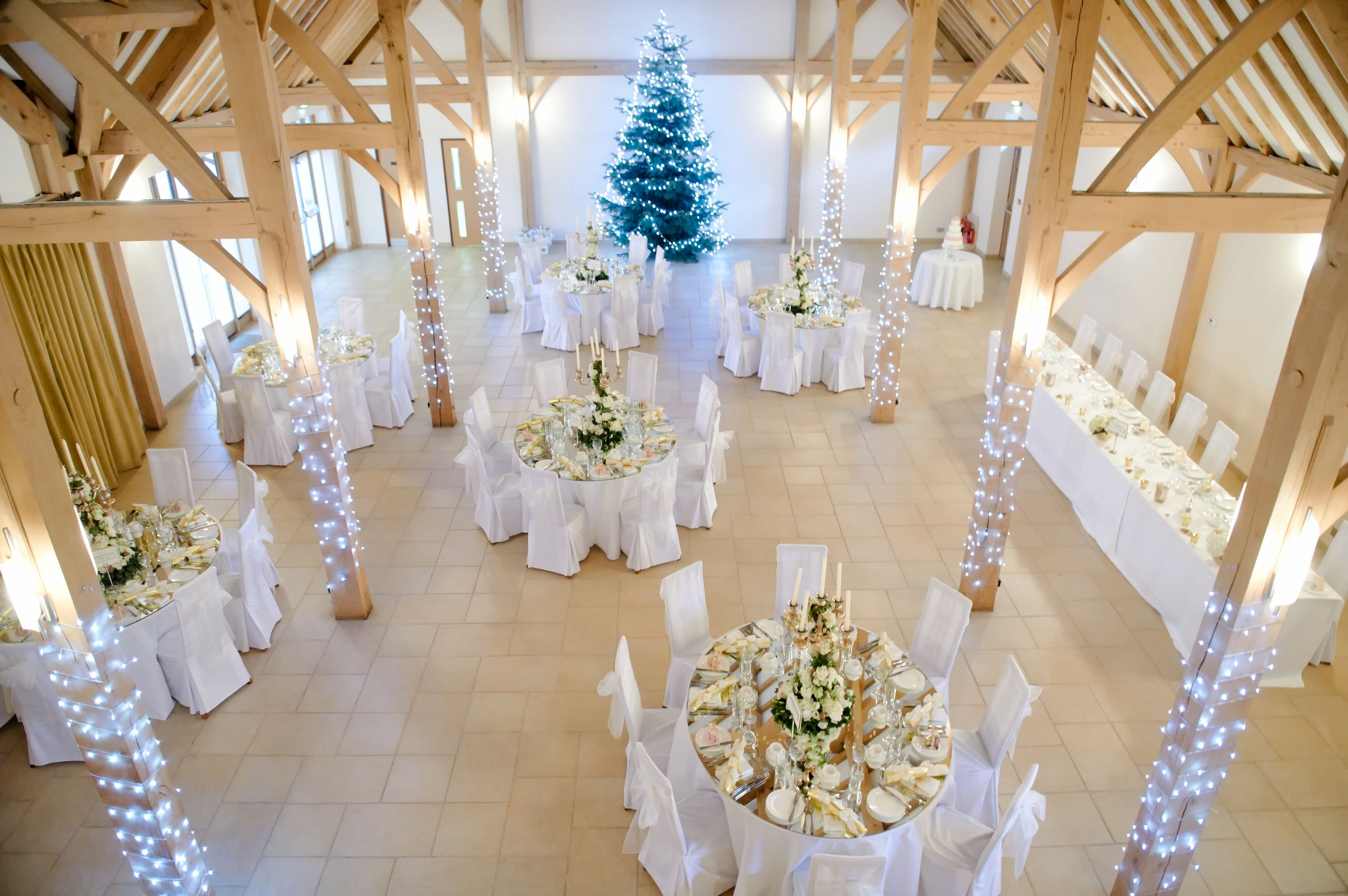 Winter Wedding At Rivervale Barn