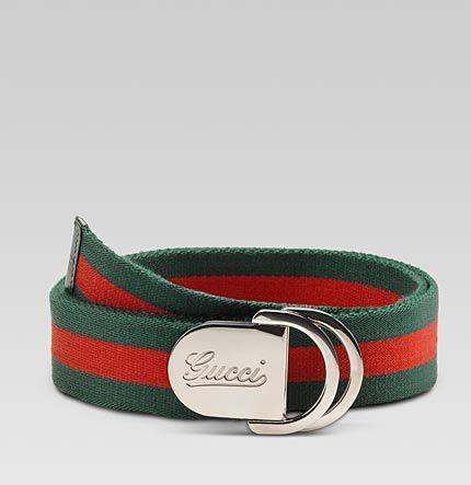 8e6b676a0e2 Classic Red   Green Gucci Belt