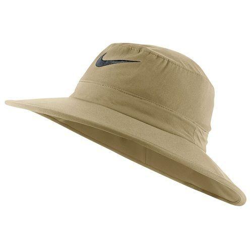Nike Golf Sun Protect Bucket Hat - Khaki Black  66627e3f9a2