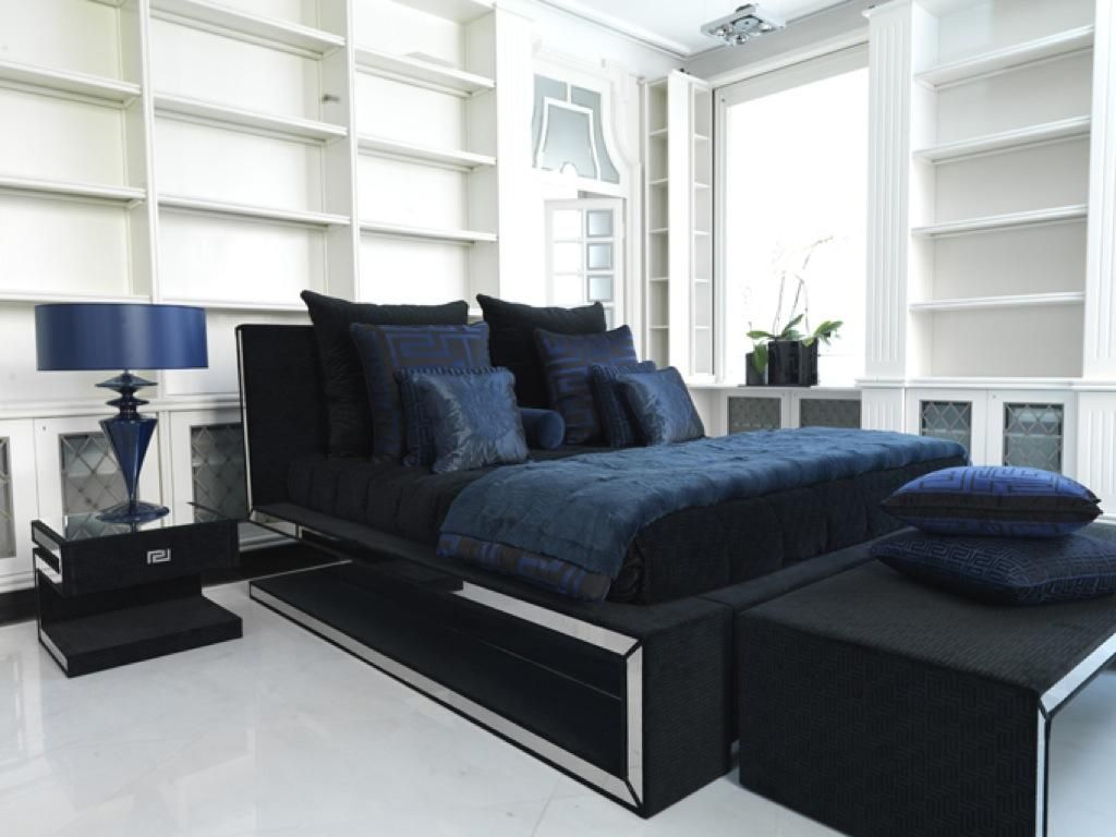 Bedroom Sets By Versace Home | Versace Greca Bed. | For More Inspirations  Visit: