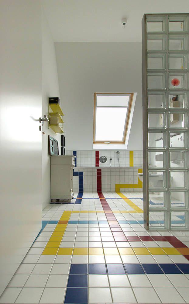 Baños de estilo ecléctico de berlin interior design ...
