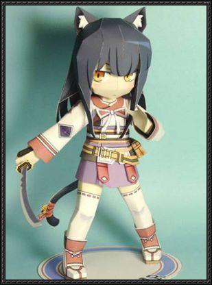 anime chibi paper doll google search