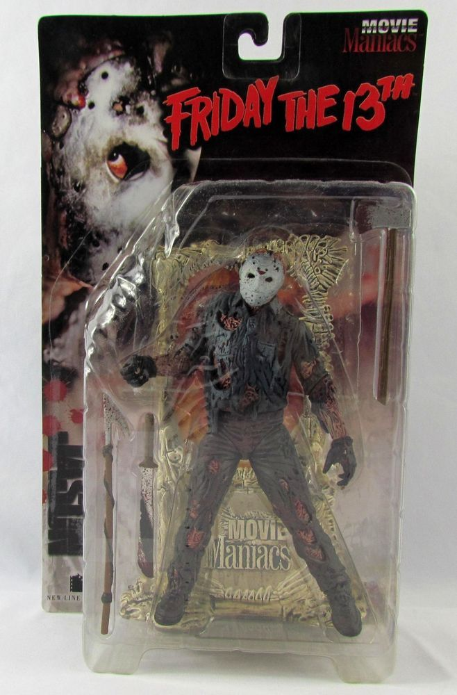1998 Mcfarlane Toys Jason Voorhees Friday The 13th Movie Maniacs Action Figure