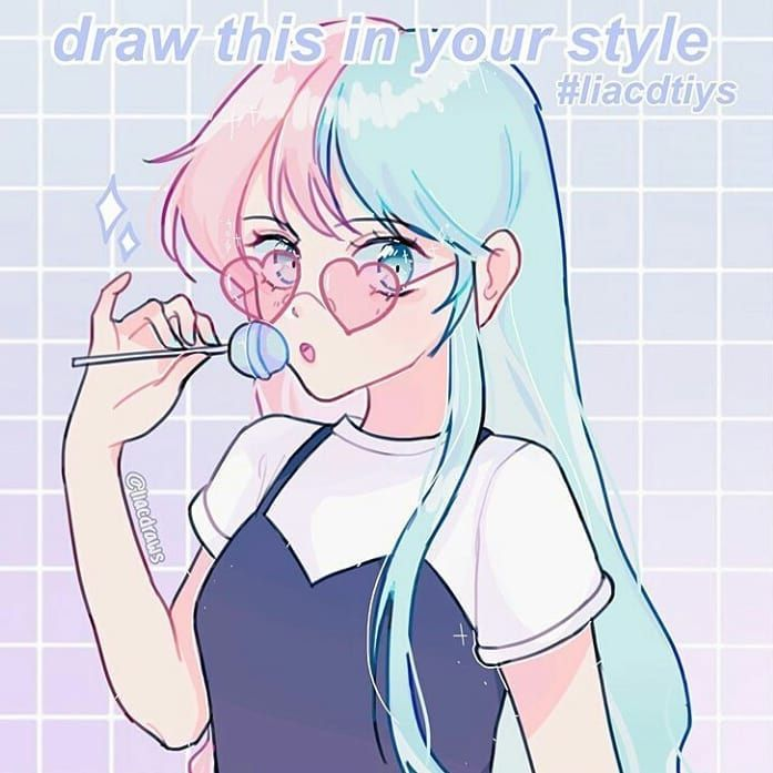 drawthisinyourstyle on Instagram: lia ♡˖༄ with the #dtiys #liacdtiys . - - - #drawthisinyourstyle