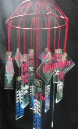 Japanese Chinese Glass Wind Chime Windchimes Vintage Style Wind Chimes Craft Glass Wind Chimes Wind Chimes