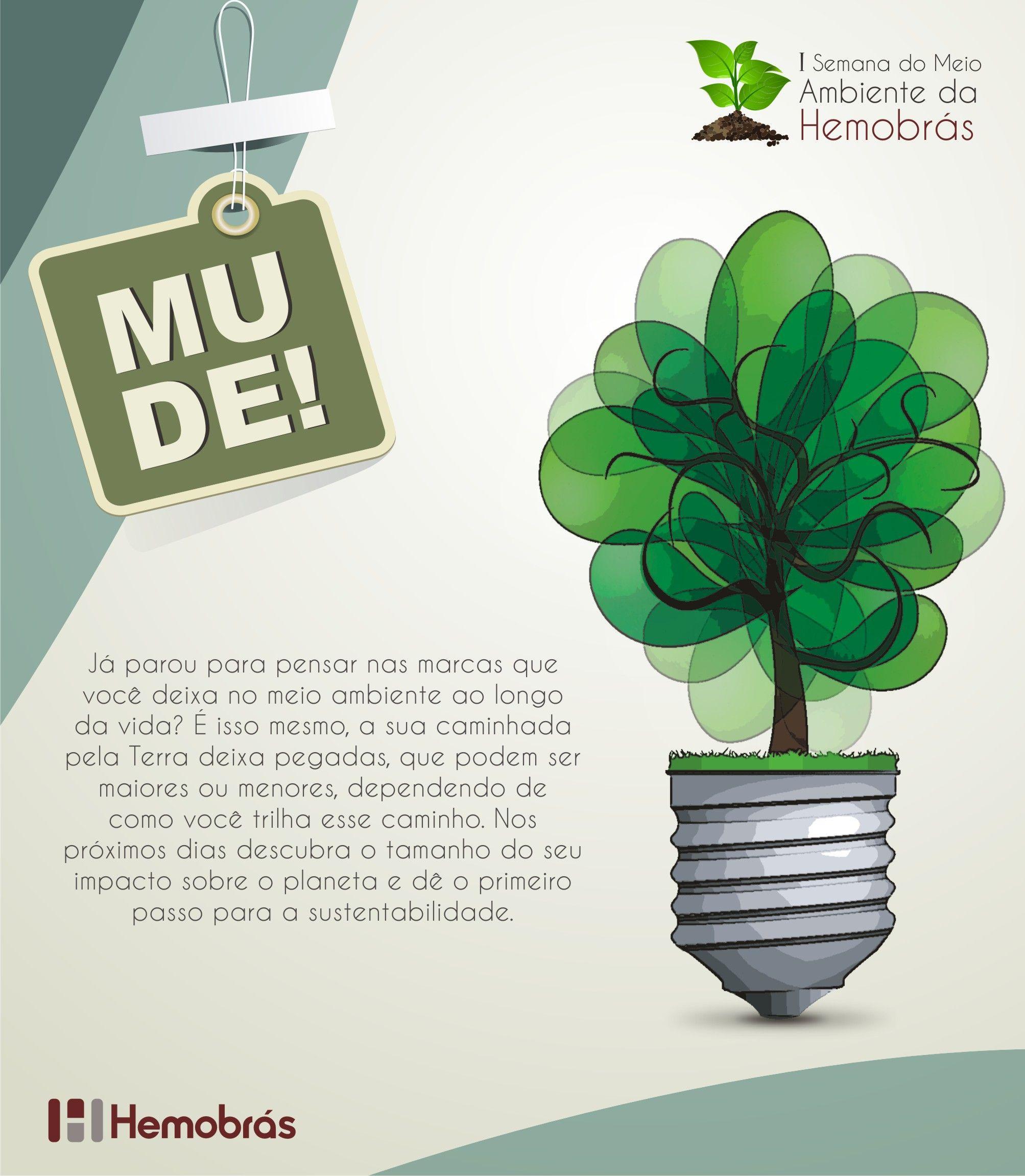 Pin Em Portifolio Campanha Sobre O Meio Ambiente