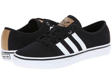 Womens Shoes adidas Originals Adria Lo W Black/White/Black