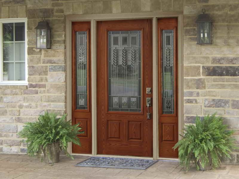 Captivating Fiberglass Stained Entry Dooru2014 Renewal By Andersen
