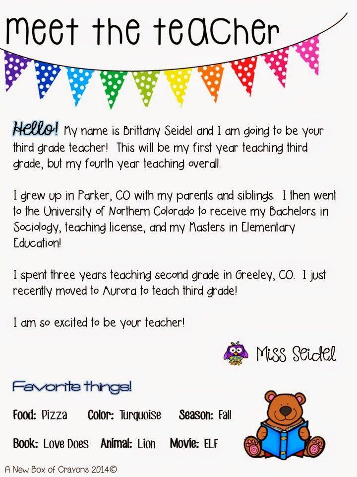 Image result for meet the teacher invitation letter   Meet The
