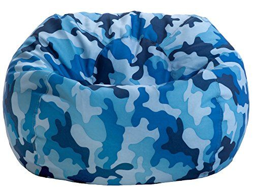 Fine Blue Bean Bag Chair Bean Bag Chairs Bean Bag Chair Blue Gmtry Best Dining Table And Chair Ideas Images Gmtryco