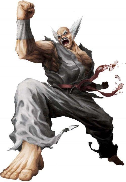 Street Fighter X Tekken Game Art Heihachi Mishima Character Render