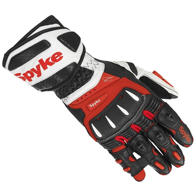 #Motorcycle Leather #Gloves  #Spyke Robotic