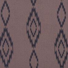 Brown/Black+Tribal+Printed+Polyester+Chiffon