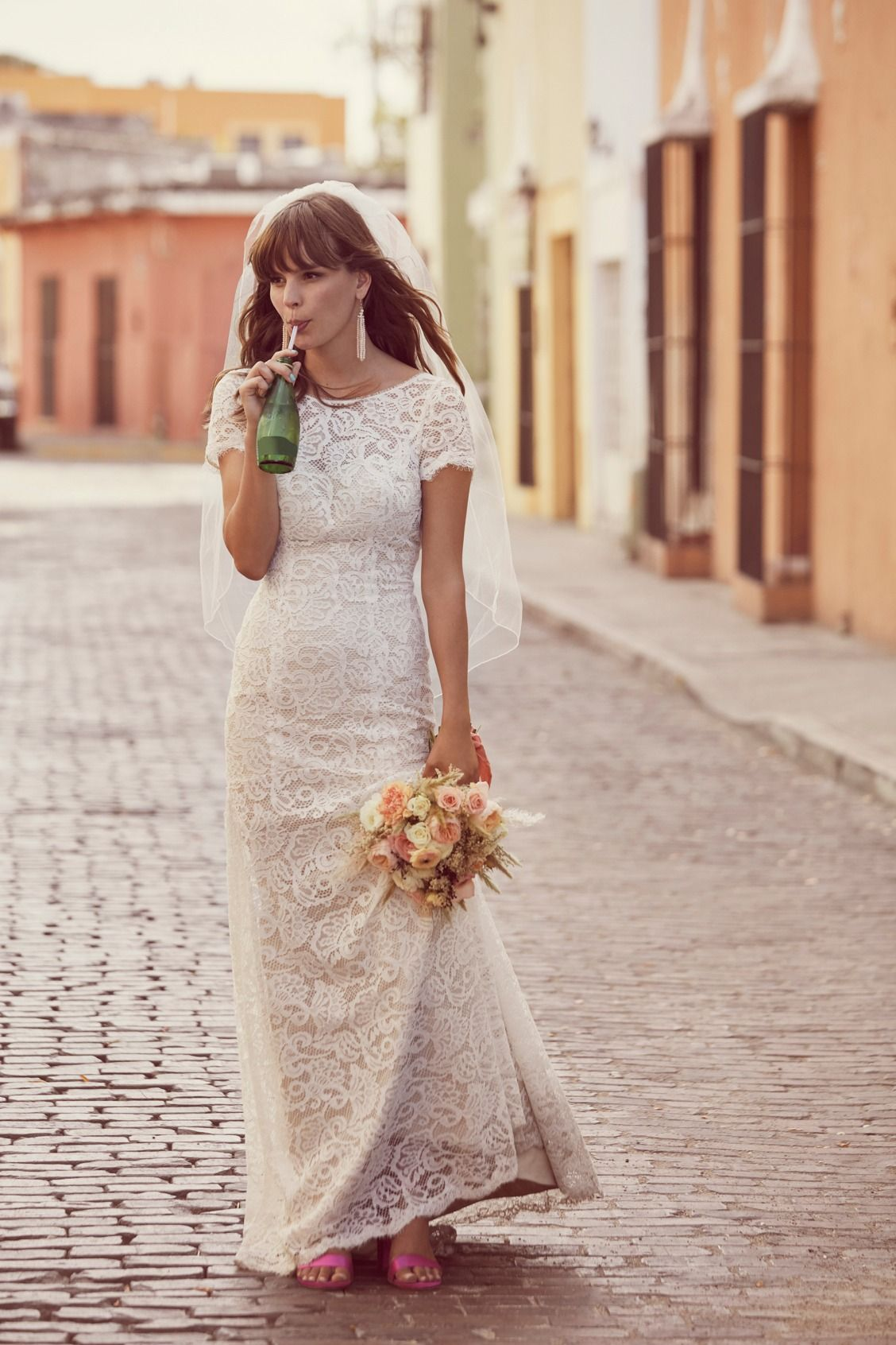 A Little Pick me up For Your Middle Of The Street Wedding The Galina Wedding Dress Collection Is For The F Bridal Dresses Wedding Dresses Galina Wedding Dress