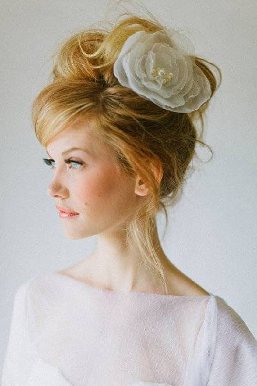 messy bun summer hair styles for wedding | hair style | pinterest