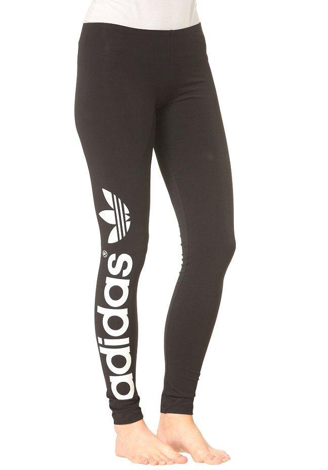 adidas Trefoil Legging MLI - Leggings für Damen - Schwarz   workout    Pinterest   Sportbekleidung, Frauen mode und Nagellack d426e466f1