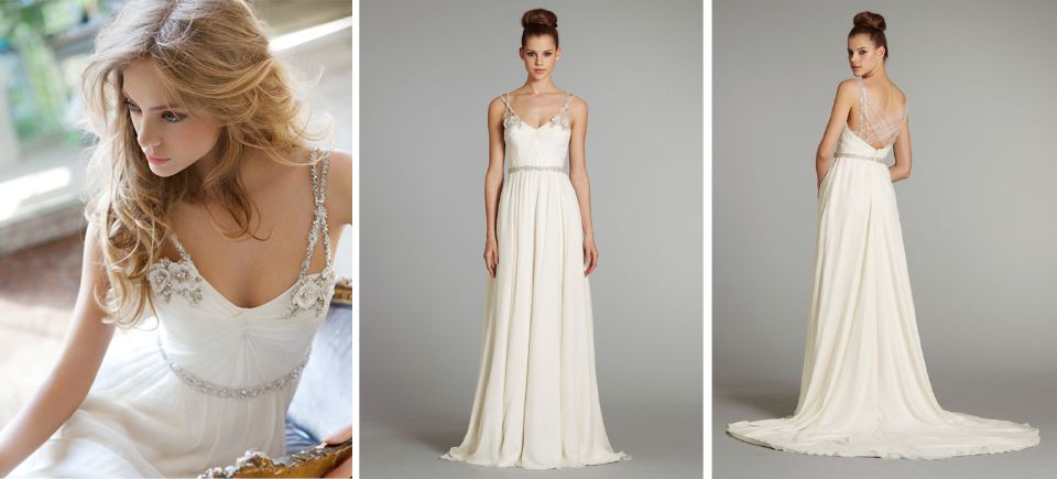Finally a uniquely different wedding dress style! Hayley-Paige-Wedding-Dress-Nina
