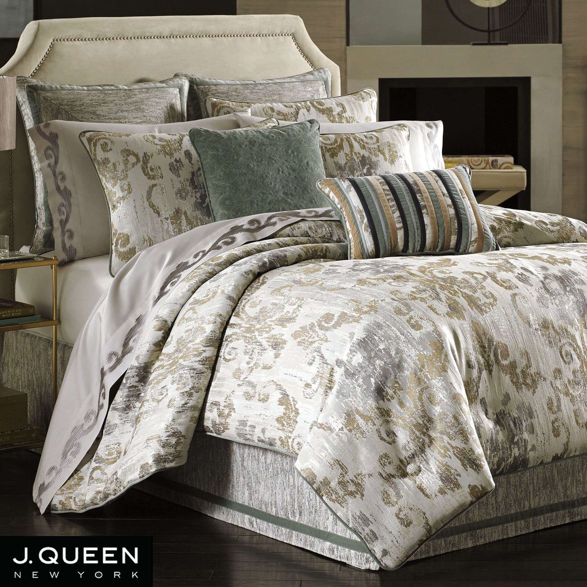bedding piece bed better ip walmart com diamond and ikat comforter gardens set queen homes