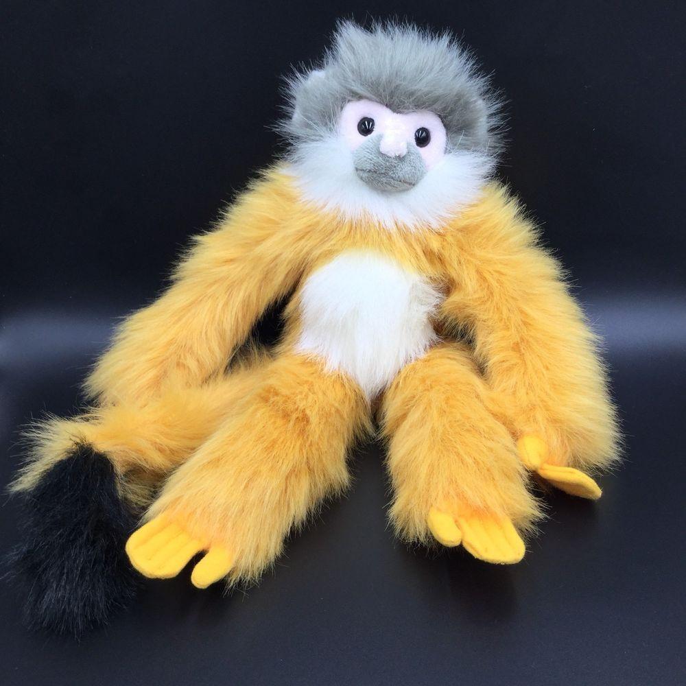 Conservation Collection Squirrel Monkey Plush Wildlife Artists 18