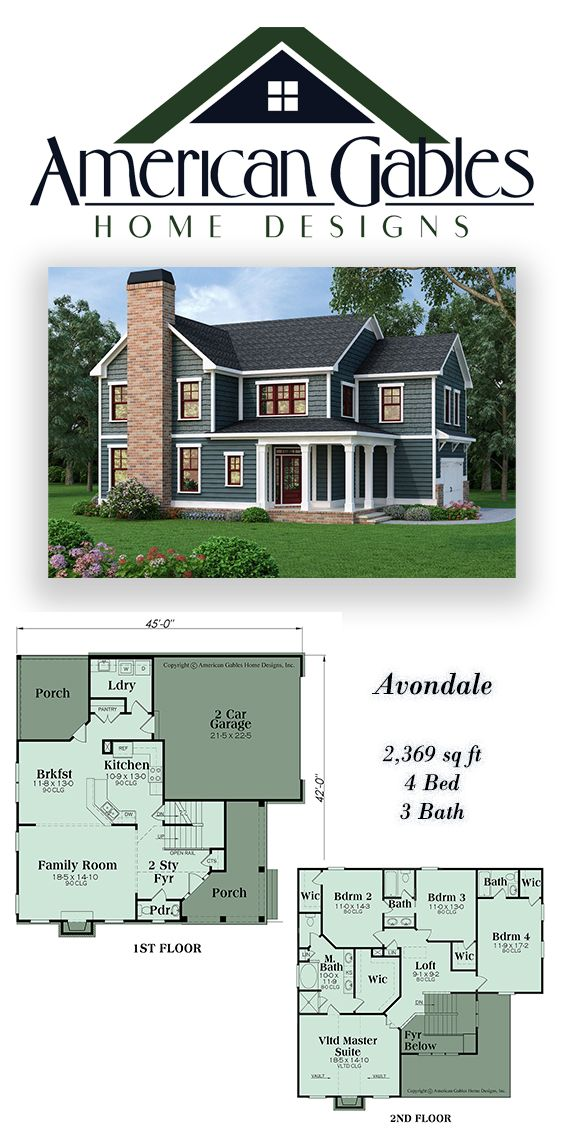 Country Plan 2369 Square Feet 4 Bedrooms 3 Bathrooms Avondale House Blueprints House Plans House Layouts