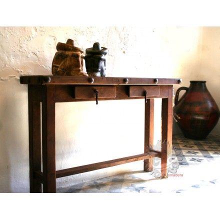 Console meuble bois exotique magasin de mobilier mexicain aix en p mobilier mexicain - Magasin meuble bois exotique ...