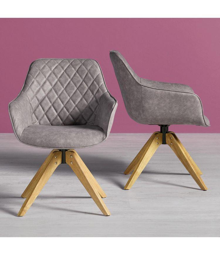 Armlehnstuhl Fenna Buchefarben Braun Holz Textil 60 81 64cm Modern Living Esszimmer Sessel Esstisch Stuhle Esszimmerstuhle