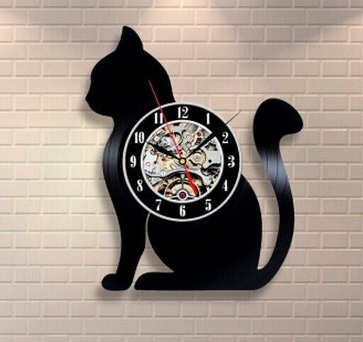 435296ac236 Hot CD Vinyl Record Wall Clock With Modern Design. Animal