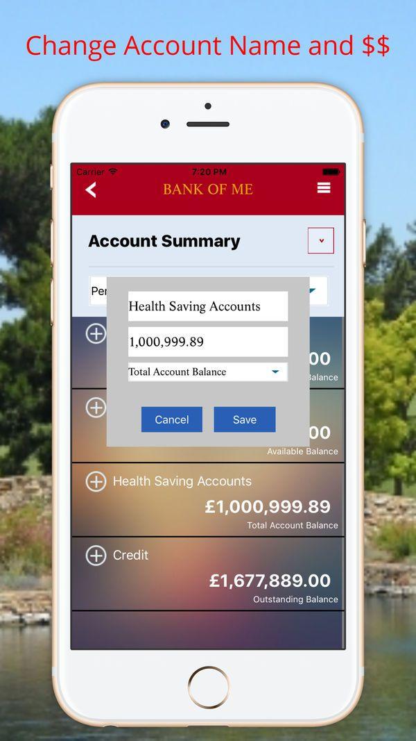 Fake Bank Pro Prank Bank on the App Store Banking app