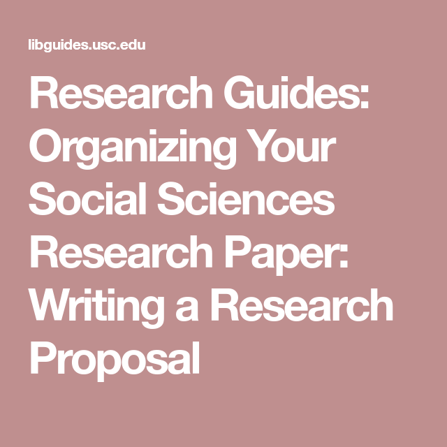 Research Guides Organizing Your Social Sciences Research Paper