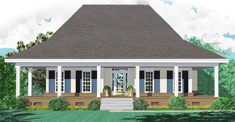 one story 3 bedroom 2 bath southern country farmhouse style house plan house plans floor plans home plans plan it at housepl