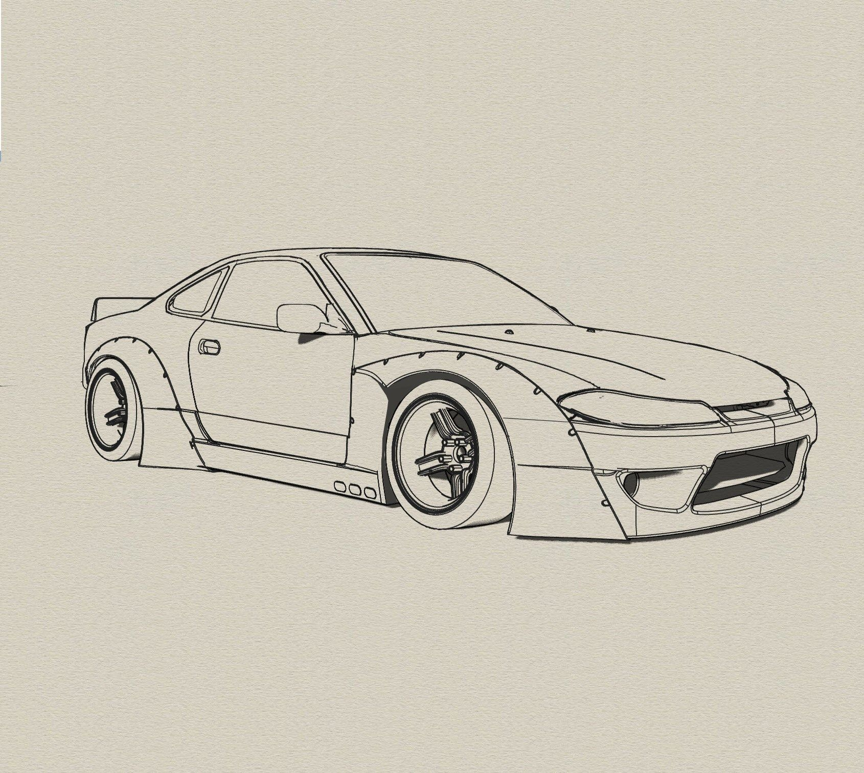 Drawing Lines R : Rocketbunny s autoart pinterest nissan cars and