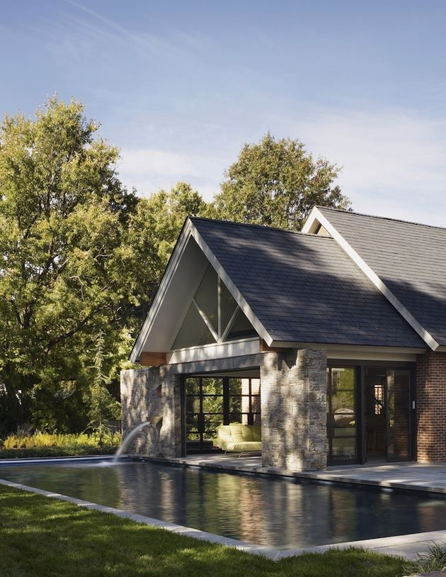 Spectacular Pool House Design Connecting Home Interiors And Swimming Pool Pool House Designs Pool Houses House Design