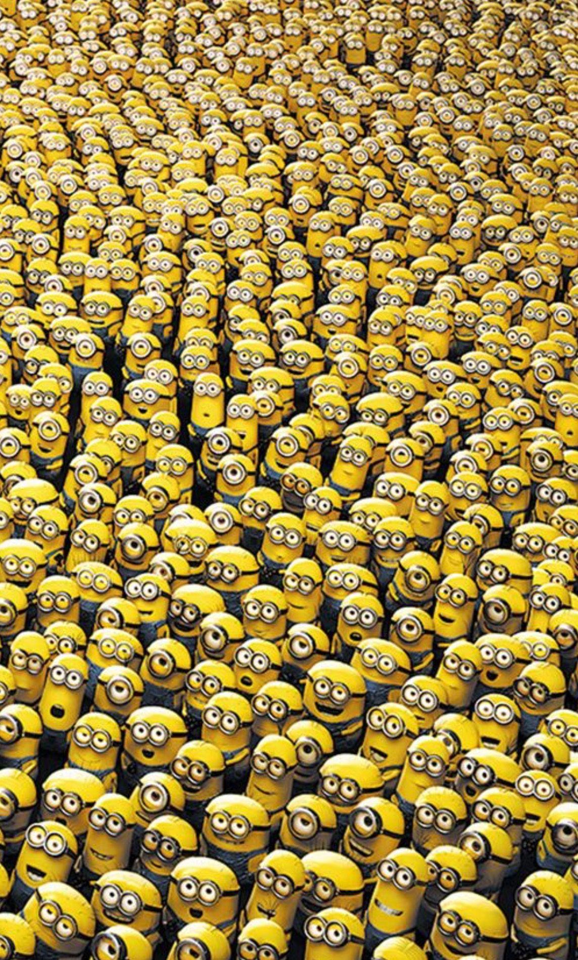 So so soooooooooooooooo many minions! !!!!!!!!!!!!!!