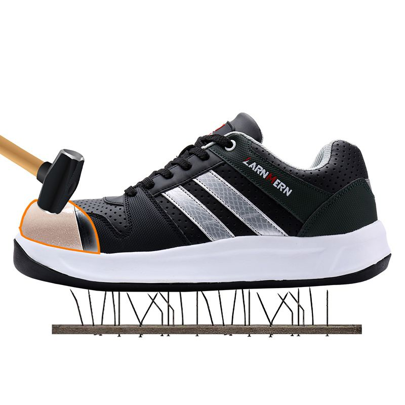 Men Safety Shoes Steel Toe Work Shoes
