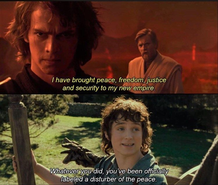 Lord Of The Rings Memes For The Tolkien Fiends 18 Memes Star Wars Memes Lord Of The Rings Star Wars Humor