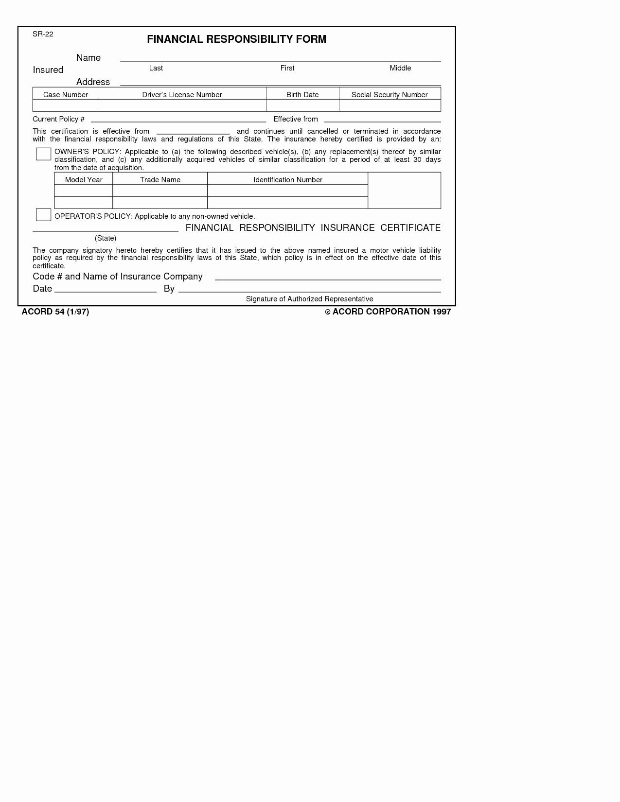 The enchanting Auto Insurance Forms Template Car Card Form