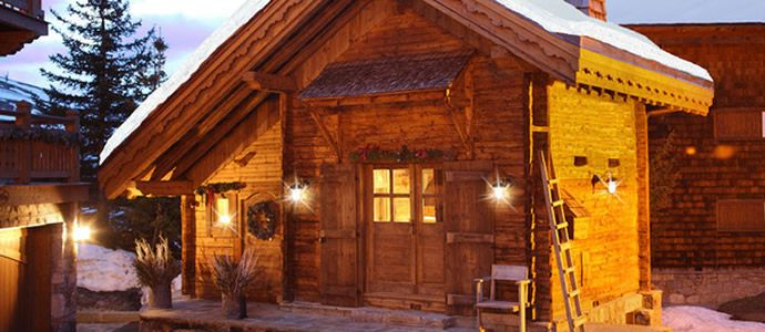 Luxury Ski Chalet Rental in the French Alps, Courchevel, Chalet Petite  Marmotte