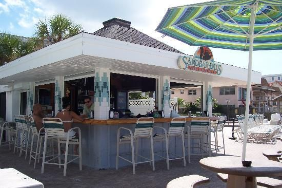 Sandbar Bill S Bonaire Beach Bar St Pete Fl