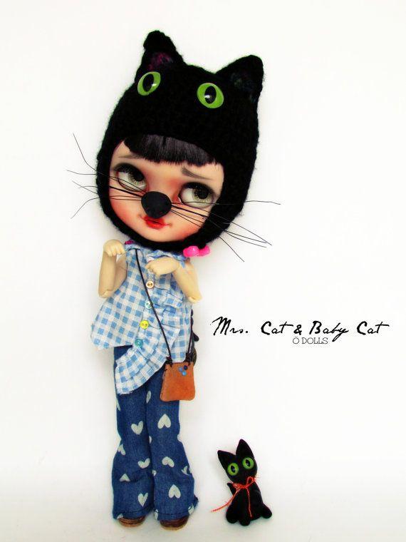 Mrs.Cat Hat por Poopoopido en Etsy