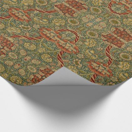 Wandle Design vintage william morris wandle wrapping paper william morris and