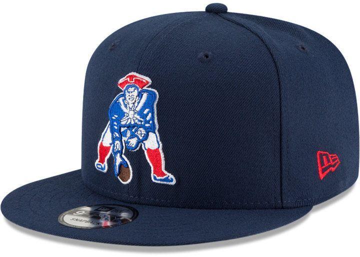 3cbe9f3a New Era New England Patriots Historic Vintage 9FIFTY Snapback Cap ...