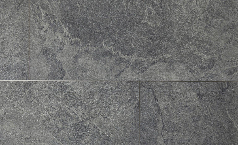 Sol Vinyle Livyn Clic Dalle Ardoise Grise Dalle 32 X 130 Cm
