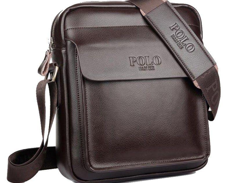 Discount This Month Polo Men Shoulder bag Genuine leather Men Bag Classical Messenger  Bag Fashion Casual Business Shoulder Handbags for Men Bag  phone   ... 954de5c59deb8