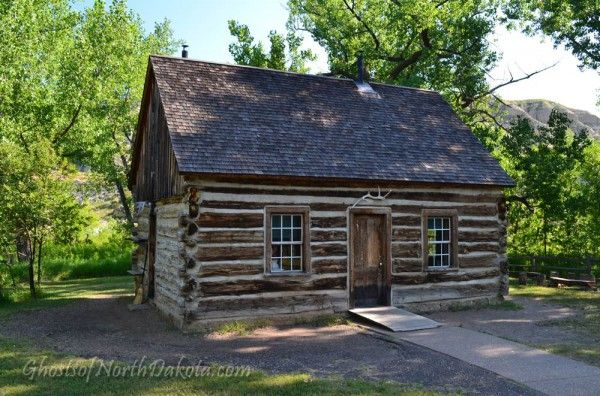 The Maltese Cross Cabin in the Theodore Roosevelt National