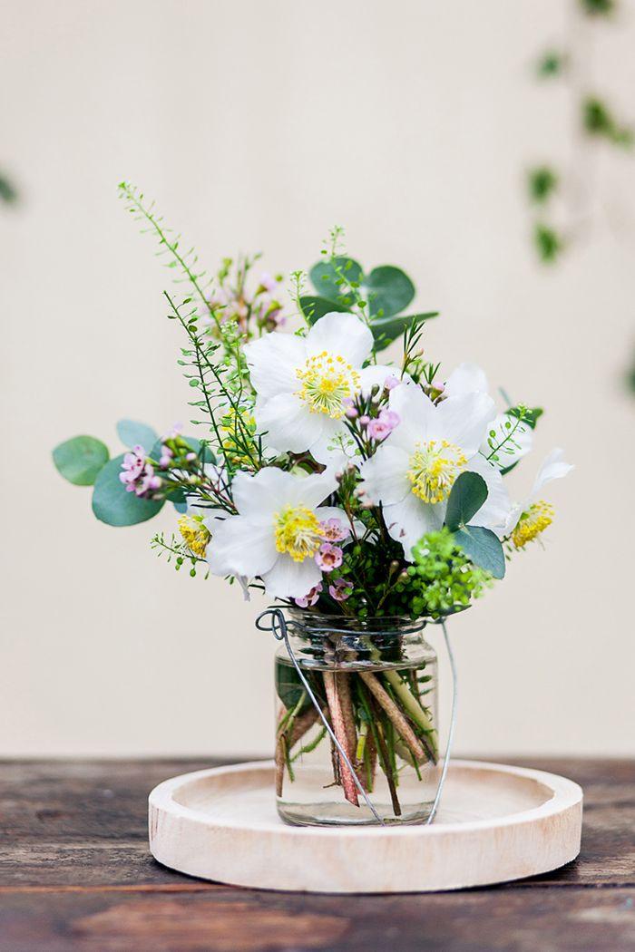 Blume Des Monats Januar Christrose Hochzeit Wedding Flower
