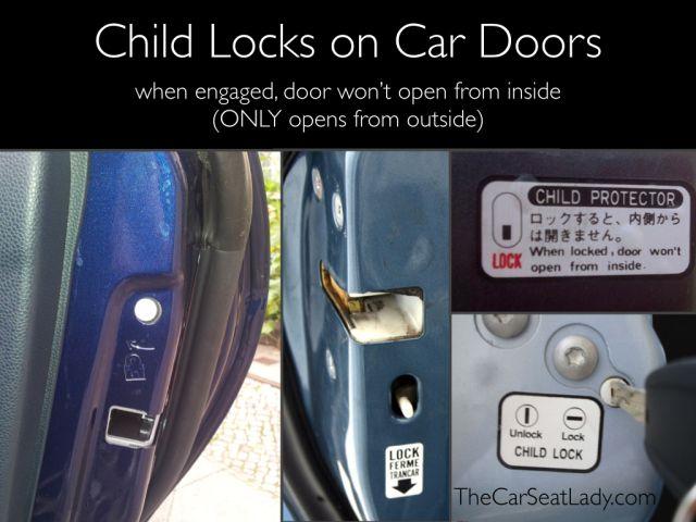 Child Locks On Car Doors How To Engage Them Car Door Car Door Handles