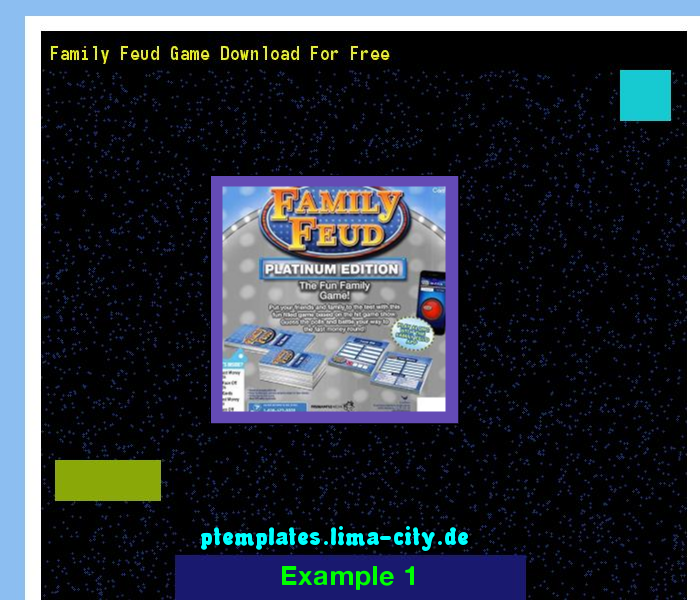 Family feud game download for free. Powerpoint Templates