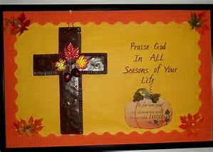 Image Result For Fall Church Bulletin Boards Christian